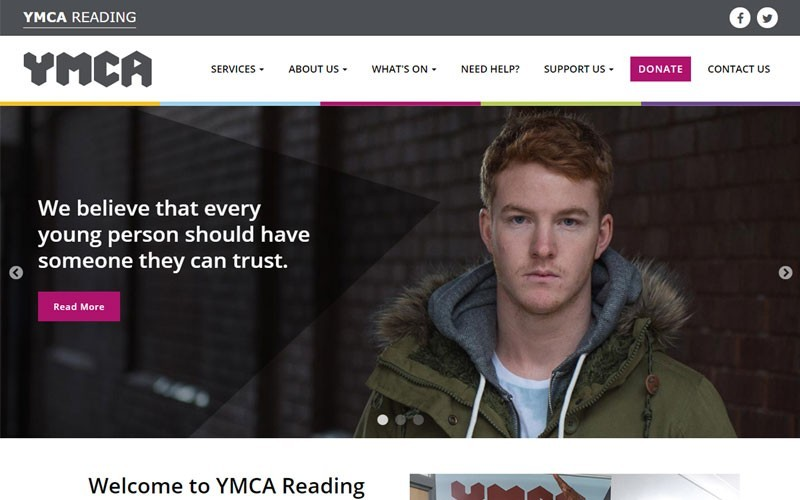 Welcome to YMCA Reading's new website!