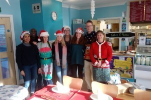 Volunteers Make Christmas Lunch Special at YMCA Reading