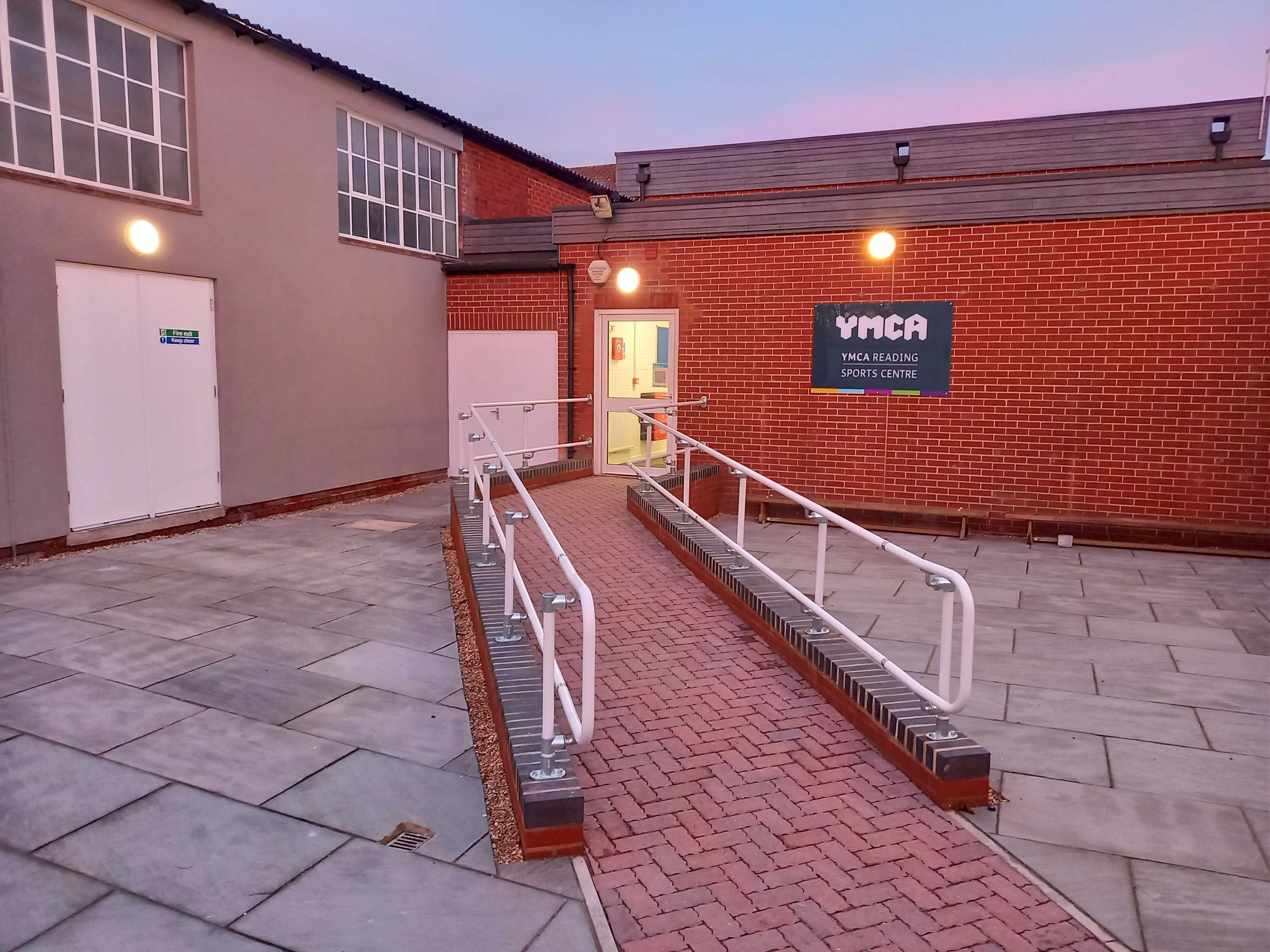 YMCA Reading Sport Centre Entrance